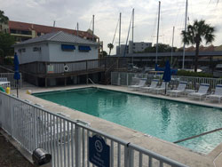 Swimming pool - Pasadena Marina St Petersburg Florida